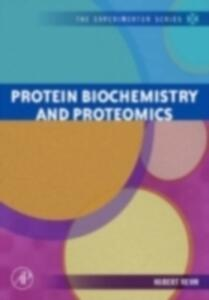 Protein Biochemistry and Proteomics - Hubert Rehm - cover