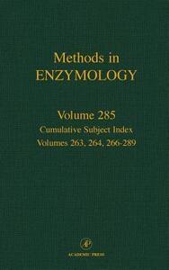 Cumulative Subject Index, Volumes 263, 264, 266-289 - cover