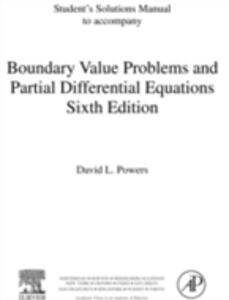 Ebook in inglese Student Solutions Manual, Boundary Value Problems Powers, David L.