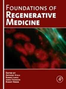 Ebook in inglese Foundations of Regenerative Medicine -, -