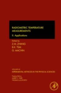 Foto Cover di Radiometric Temperature Measurements, Ebook inglese di  edito da Elsevier Science