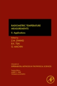 Ebook in inglese Radiometric Temperature Measurements -, -