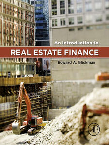Ebook in inglese An Introduction to Real Estate Finance Glickman, Edward