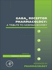 Foto Cover di GABAb Receptor Pharmacology, Ebook inglese di  edito da Elsevier Science