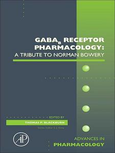 Ebook in inglese GABAb Receptor Pharmacology -, -