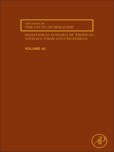 Ebook in inglese Behavioral ecology of tropical animals -, -