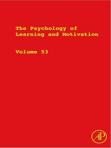 Foto Cover di The Psychology of Learning and Motivation, Ebook inglese di  edito da Elsevier Science