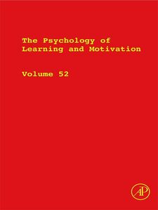Ebook in inglese The Psychology of Learning and Motivation