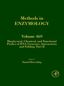 Foto Cover di Biophysical, Chemical, and Functional Probes of RNA Structure, Interactions and Folding, Ebook inglese di Daniel Herschlag, edito da Elsevier Science