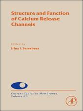Structure and Function of Calcium Release Channels