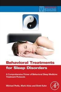 Ebook in inglese Behavioral Treatments for Sleep Disorders