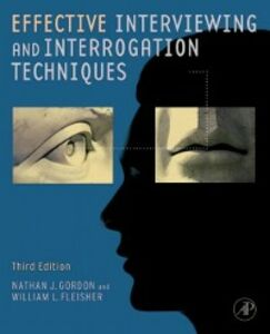 Ebook in inglese Effective Interviewing and Interrogation Techniques Fleisher, William L. , Gordon, Nathan J.