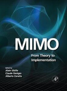 Ebook in inglese MIMO Oestges, Claude , Sibille, Alain , Zanella, Alberto