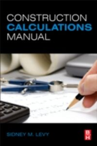 Ebook in inglese Construction Calculations Manual Levy, Sidney M