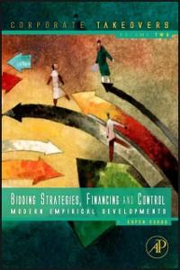 Ebook in inglese Bidding Strategies, Financing and Control Eckbo, B. Espen