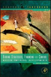 Bidding Strategies, Financing and Control