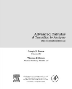 Ebook in inglese Advanced Calculus Dence, Joseph B. , Dence, Thomas P.