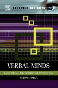 Ebook in inglese Verbal Minds Gomila, Toni