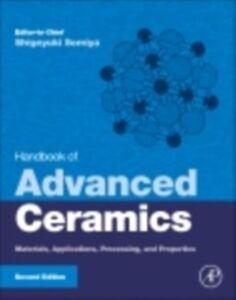 Foto Cover di Handbook of Advanced Ceramics, Ebook inglese di  edito da Elsevier Science