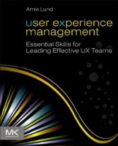 Ebook in inglese User Experience Management Lund, Arnie