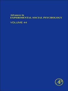 Foto Cover di Advances in Experimental Social Psychology, Ebook inglese di  edito da Elsevier Science