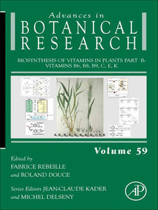 Foto Cover di Biosynthesis of Vitamins in Plants Part B, Ebook inglese di  edito da Elsevier Science