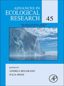 Foto Cover di The Role of Body Size in Multispecies Systems, Ebook inglese di  edito da Elsevier Science