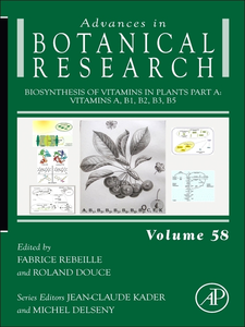 Ebook in inglese Biosynthesis of Vitamins in Plants Part A -, -