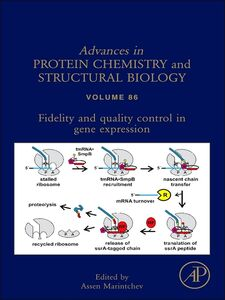 Foto Cover di Fidelity and Quality Control in Gene Expression, Ebook inglese di  edito da Elsevier Science