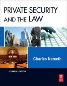 Ebook in inglese Private Security and the Law Nemeth, Charles