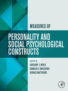Ebook in inglese Measures of Personality and Social Psychological Constructs