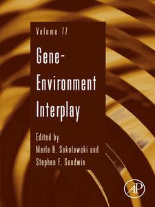 Foto Cover di Gene-Environment Interplay, Ebook inglese di  edito da Elsevier Science