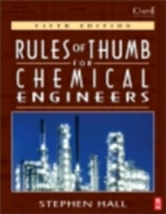 Ebook in inglese Rules of Thumb for Chemical Engineers Hall, Stephen M