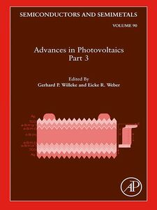 Ebook in inglese Advances in Photovoltaics, Part 3 -, -