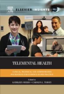 Ebook in inglese Telemental Health -, -