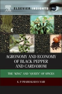 Ebook in inglese Agronomy and Economy of Black Pepper and Cardamom Nair, K.P. Prabhakaran