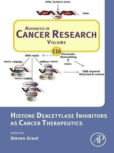 Ebook in inglese Histone Deacetylase Inhibitors as Cancer Therapeutics