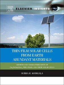 Ebook in inglese Thin Film Solar Cells From Earth Abundant Materials Kodigala, Subba Ramaiah