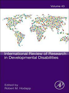 Foto Cover di International Review of Research in Developmental Disabilities, Ebook inglese di  edito da Elsevier Science