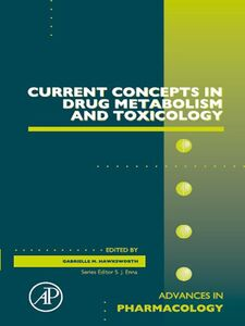 Ebook in inglese Current Concepts in Drug Metabolism and Toxicology -, -