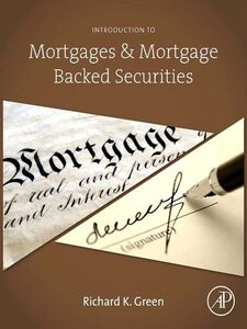 Ebook in inglese Introduction to Mortgages & Mortgage Backed Securities Green, Richard K.