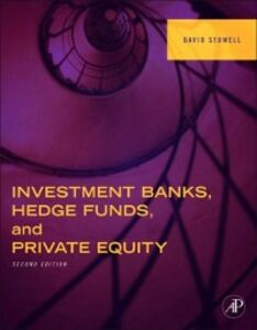 Ebook in inglese Investment Banks, Hedge Funds, and Private Equity Stowell, David