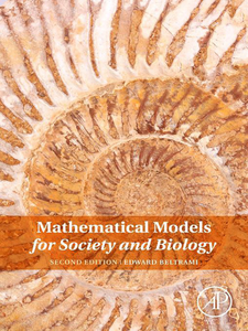 Ebook in inglese Mathematical Models for Society and Biology Beltrami, Edward