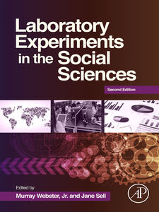 Foto Cover di Laboratory Experiments in the Social Sciences, Ebook inglese di Jane Sell,Murray Webster, edito da Elsevier Science
