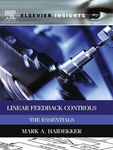 Ebook in inglese Linear Feedback Controls Haidekker, Mark A.