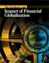 Evidence and Impact of Financial Globalization