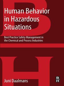 Ebook in inglese Human Behavior in Hazardous Situations Daalmans, Jan M T