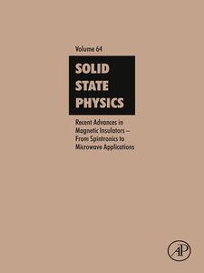 Foto Cover di Recent Advances in Magnetic Insulators, Ebook inglese di  edito da Elsevier Science
