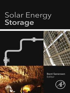 Foto Cover di Solar Energy Storage, Ebook inglese di Bent Sørensen, edito da Elsevier Science