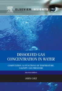 Ebook in inglese Dissolved Gas Concentration in Water Colt, John